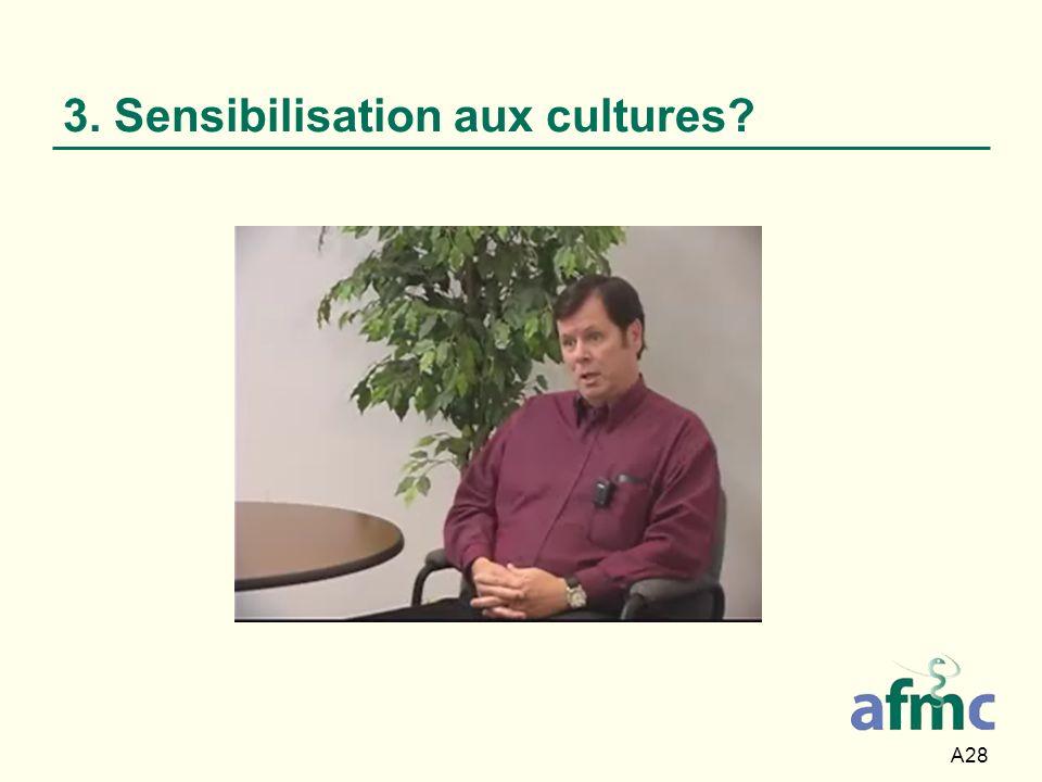 3. Sensibilisation aux cultures