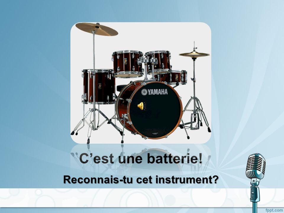Reconnais-tu cet instrument
