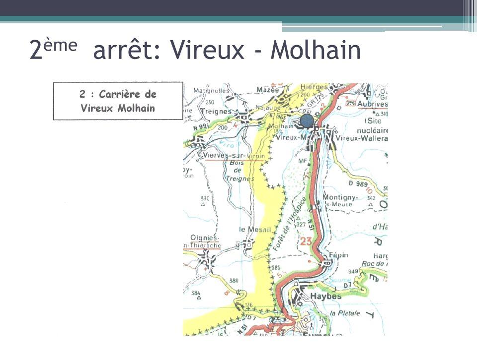 2ème arrêt: Vireux - Molhain
