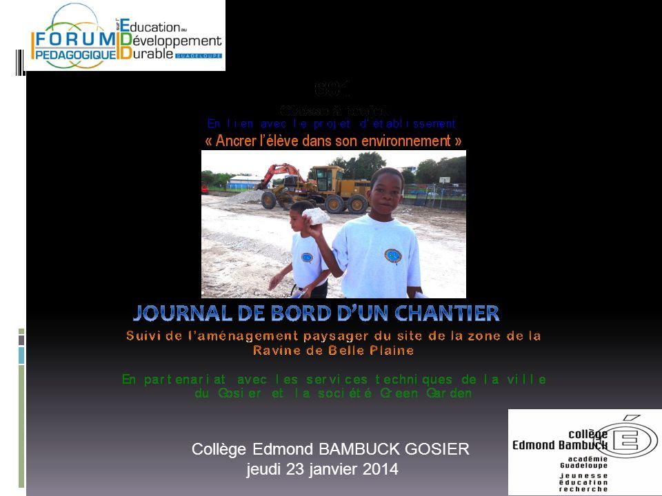 Collège Edmond BAMBUCK GOSIER
