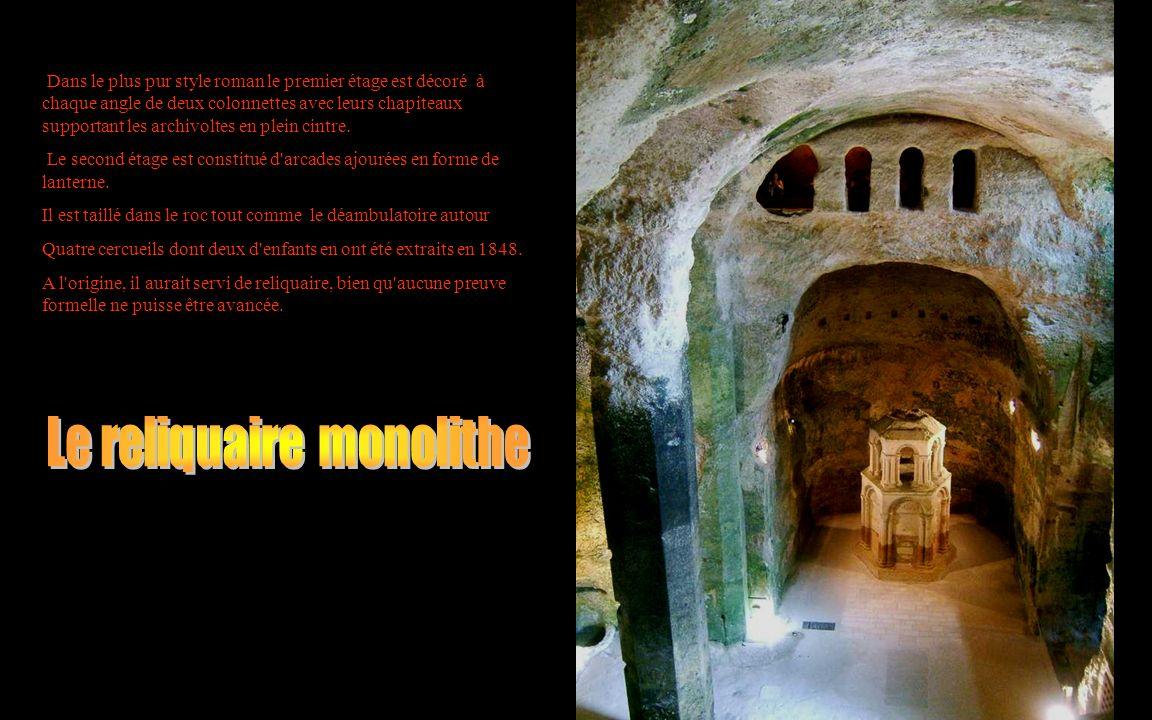 Le reliquaire monolithe