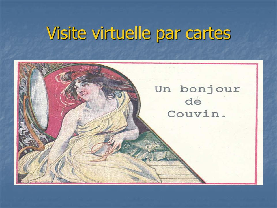 Visite virtuelle par cartes