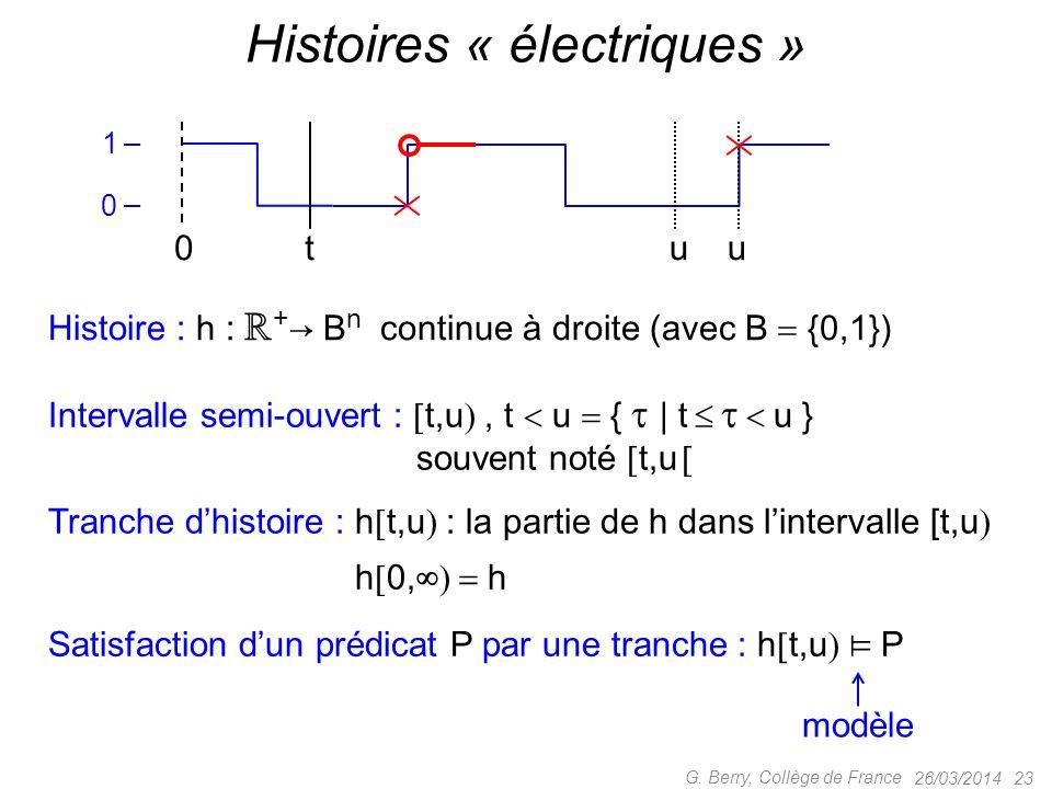 Histoires « électriques »