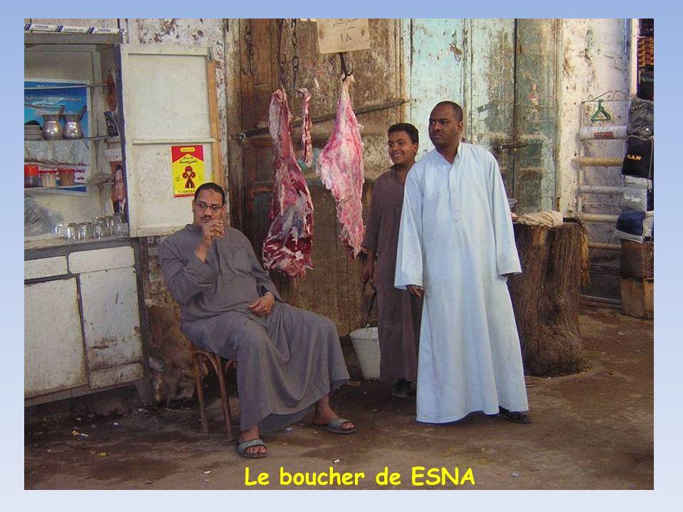 Le boucher de ESNA