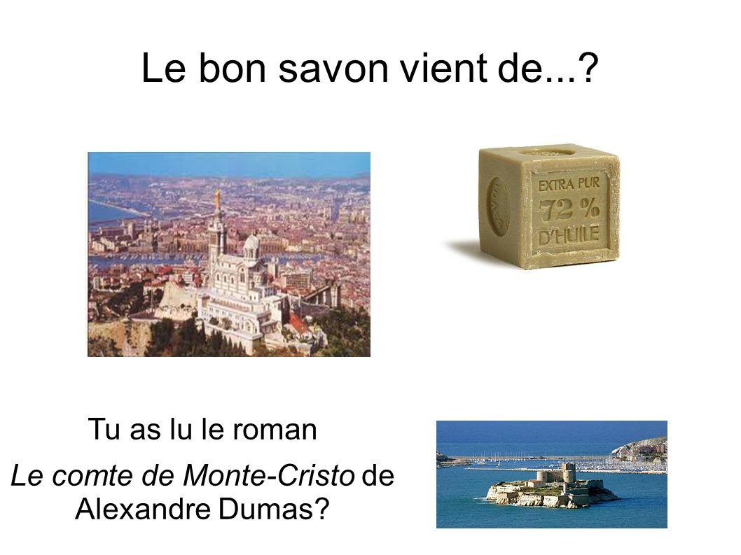 Le comte de Monte-Cristo de Alexandre Dumas