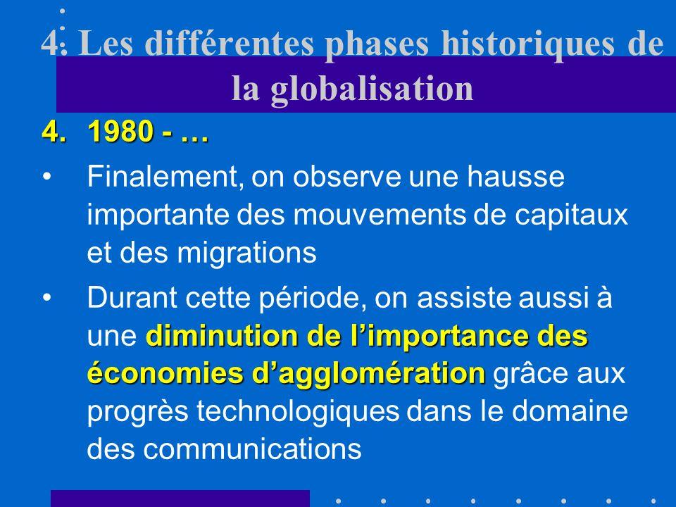 4. Les différentes phases historiques de la globalisation