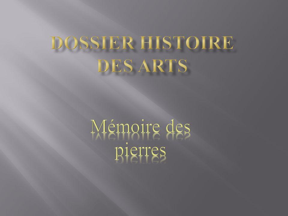 dossier histoire des arts