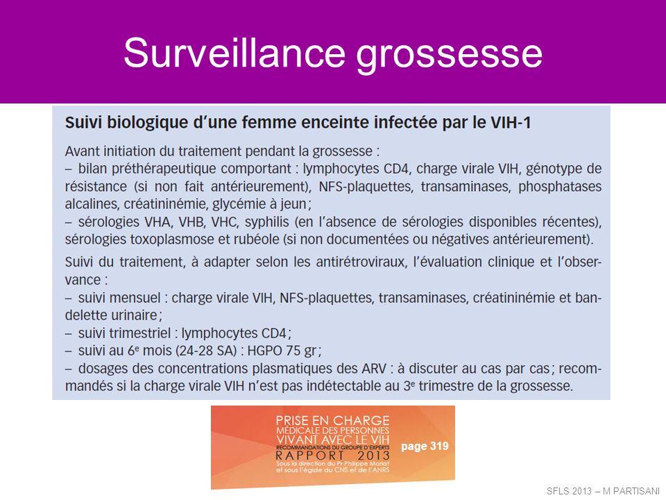 Surveillance grossesse