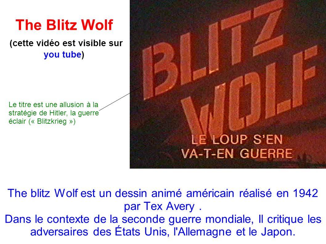 The Blitz Wolf (cette vidéo est visible sur you tube)
