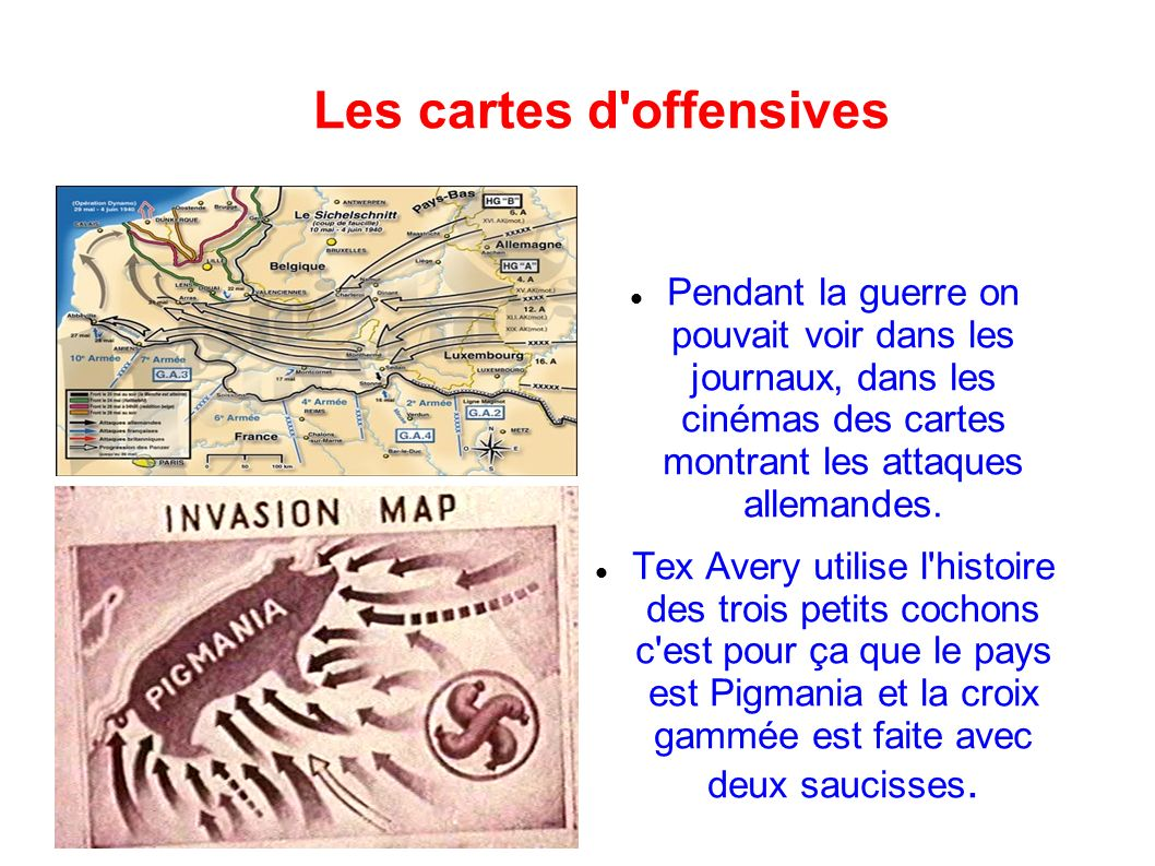 Les cartes d offensives