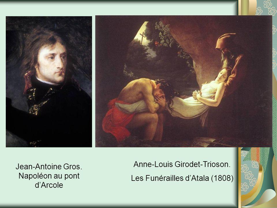 Anne-Louis Girodet-Trioson. Les Funérailles d'Atala (1808)