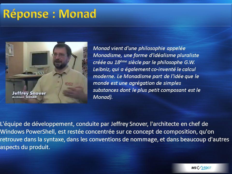 Réponse : Monad