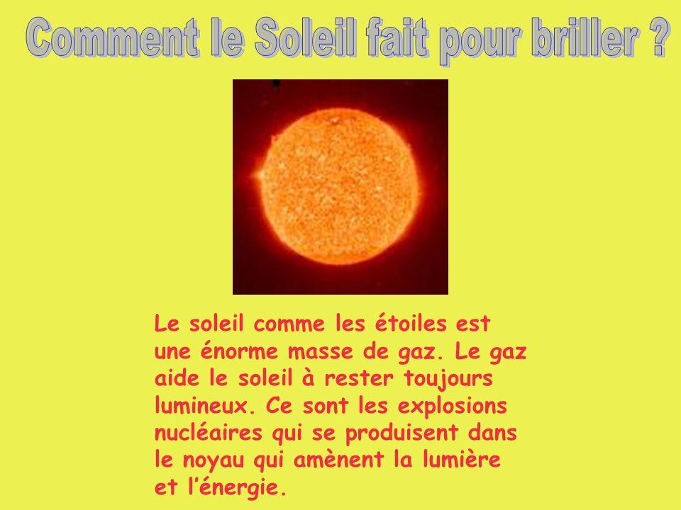 Comment le Soleil fait pour briller