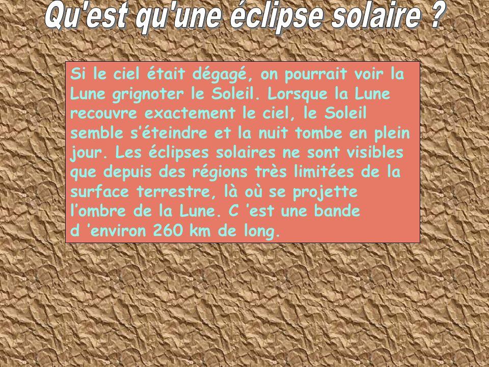 Qu est qu une éclipse solaire