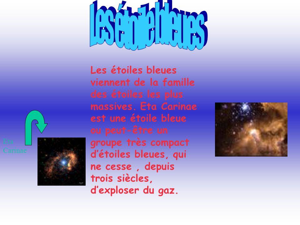 Les étoile bleues