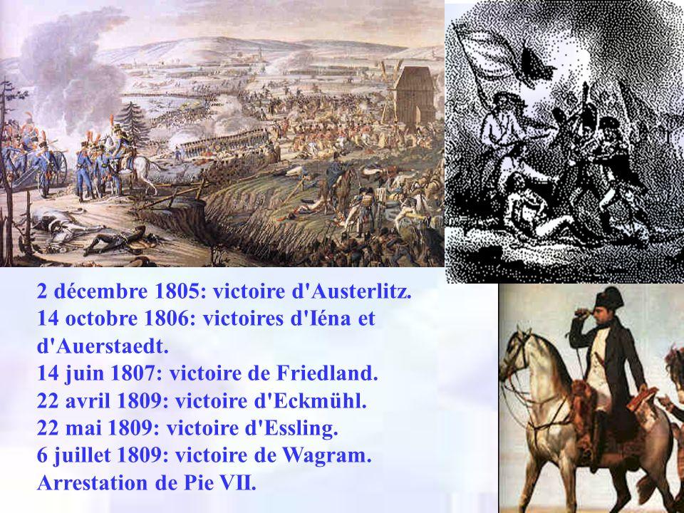 2 décembre 1805: victoire d Austerlitz.