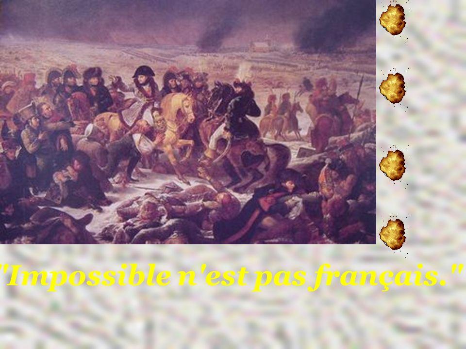 Impossible n est pas français.