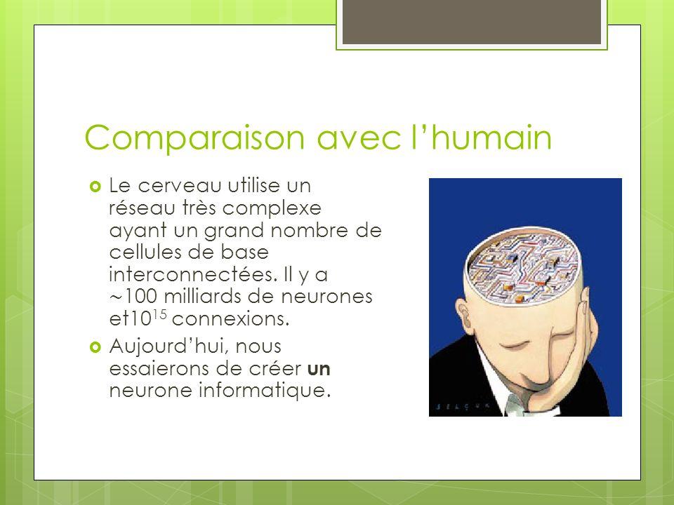 Comparaison avec l'humain