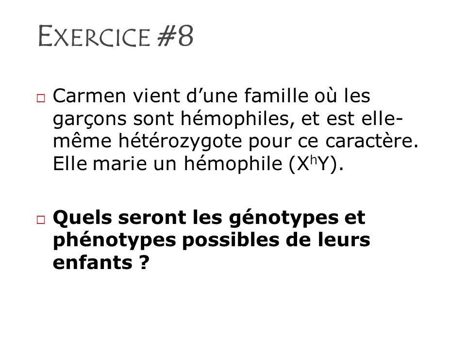 Exercice #8