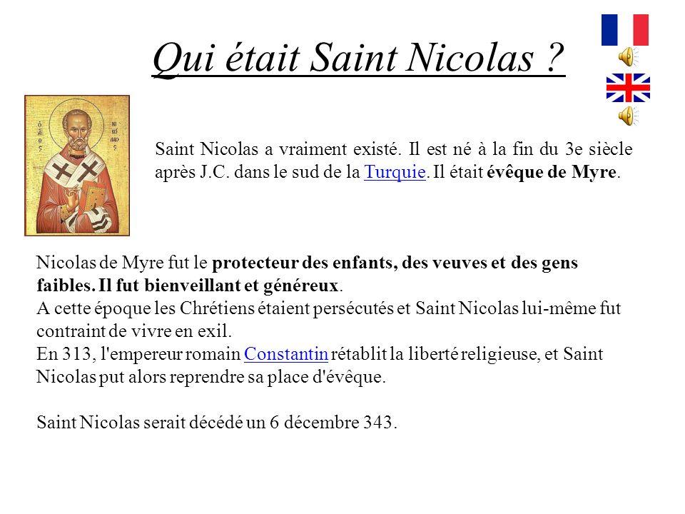 Qui était Saint Nicolas