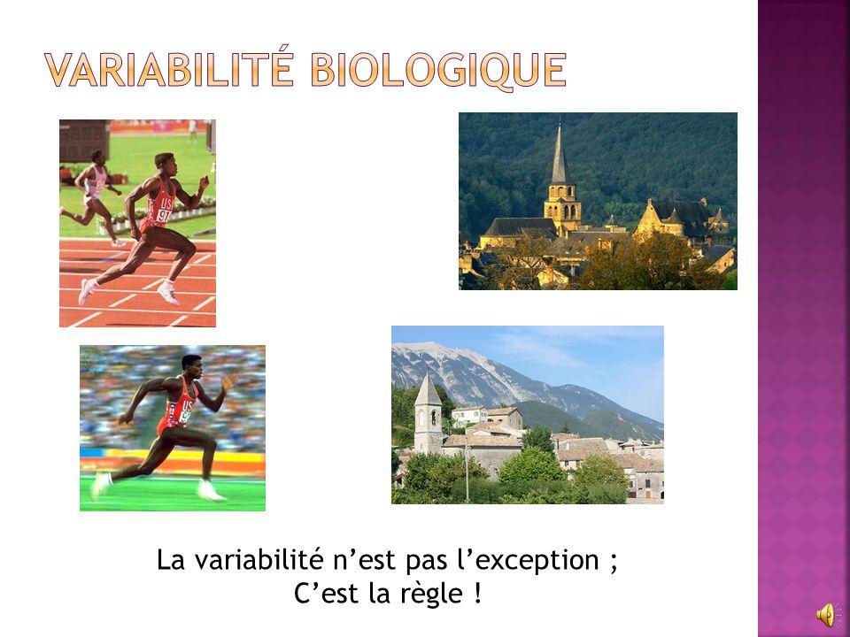 Variabilité biologique
