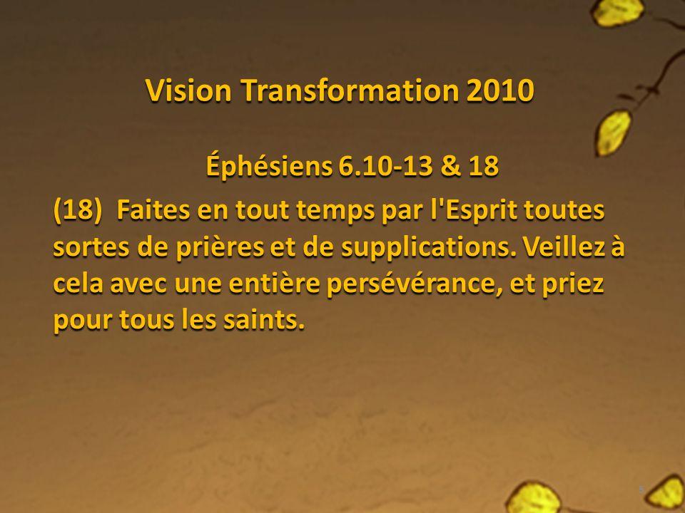 Vision Transformation 2010