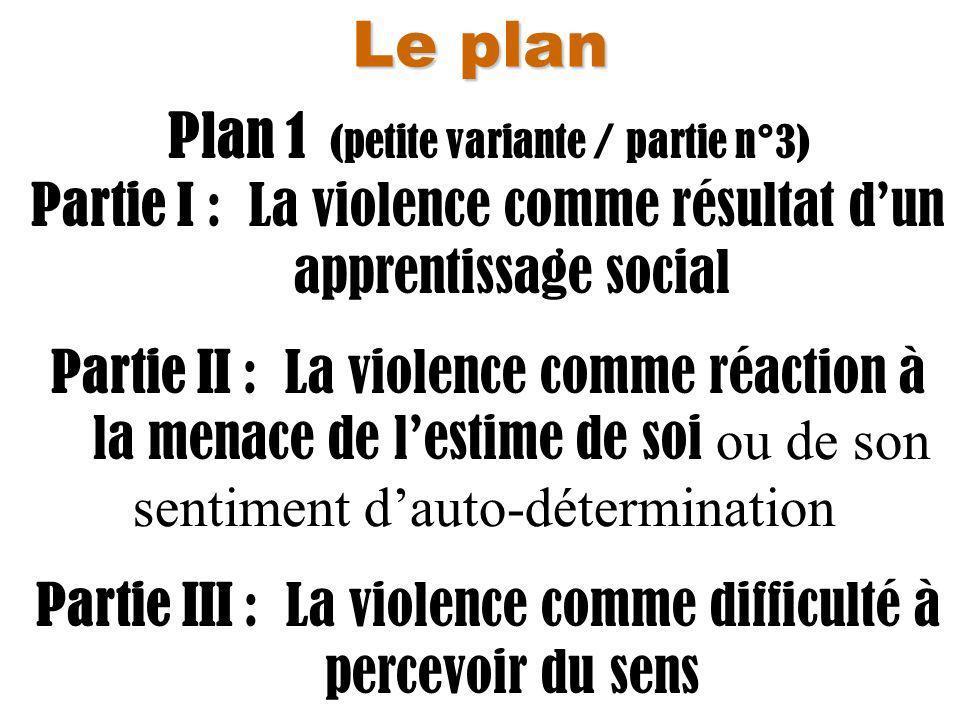 Plan 1 (petite variante / partie n°3)