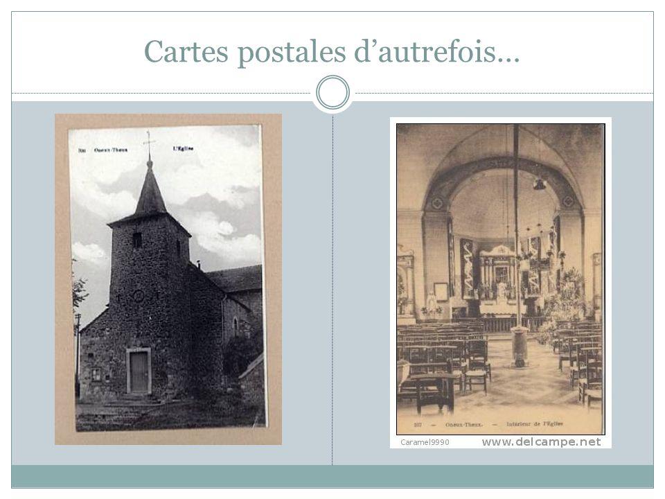 Cartes postales d'autrefois…