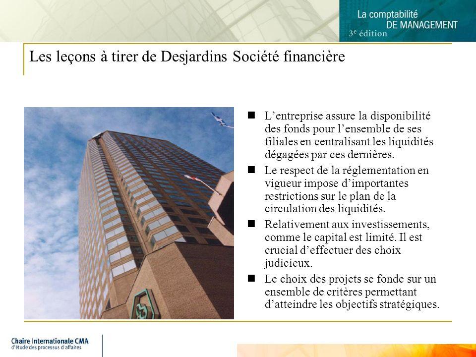 Les leçons à tirer de Desjardins Société financière