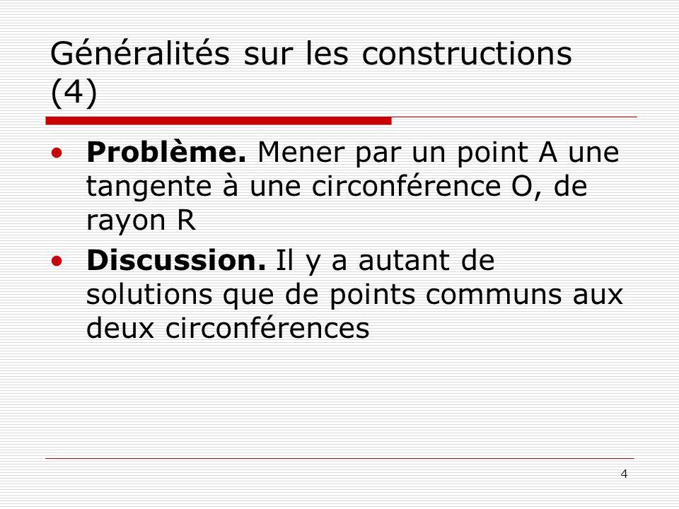 Généralités sur les constructions (4)