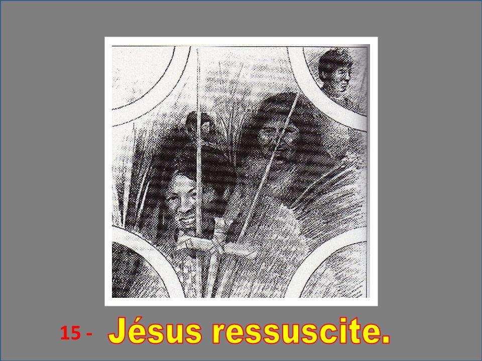 15 - Jésus ressuscite.