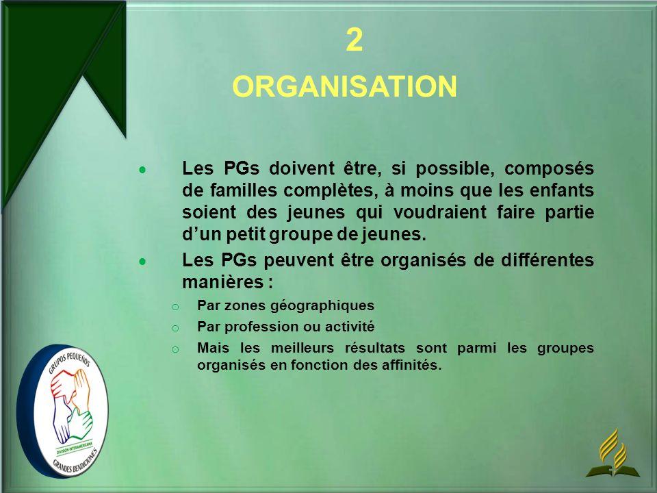 2 ORGANISATION.