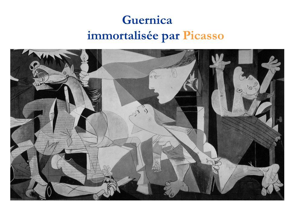 Guernica immortalisée par Picasso