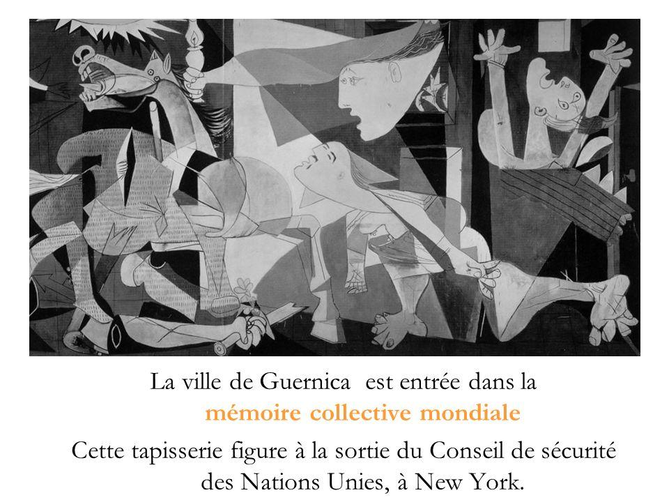 La ville de Guernica est entrée dans la mémoire collective mondiale