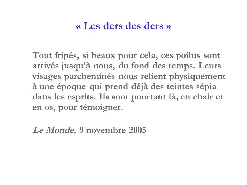 « Les ders des ders »