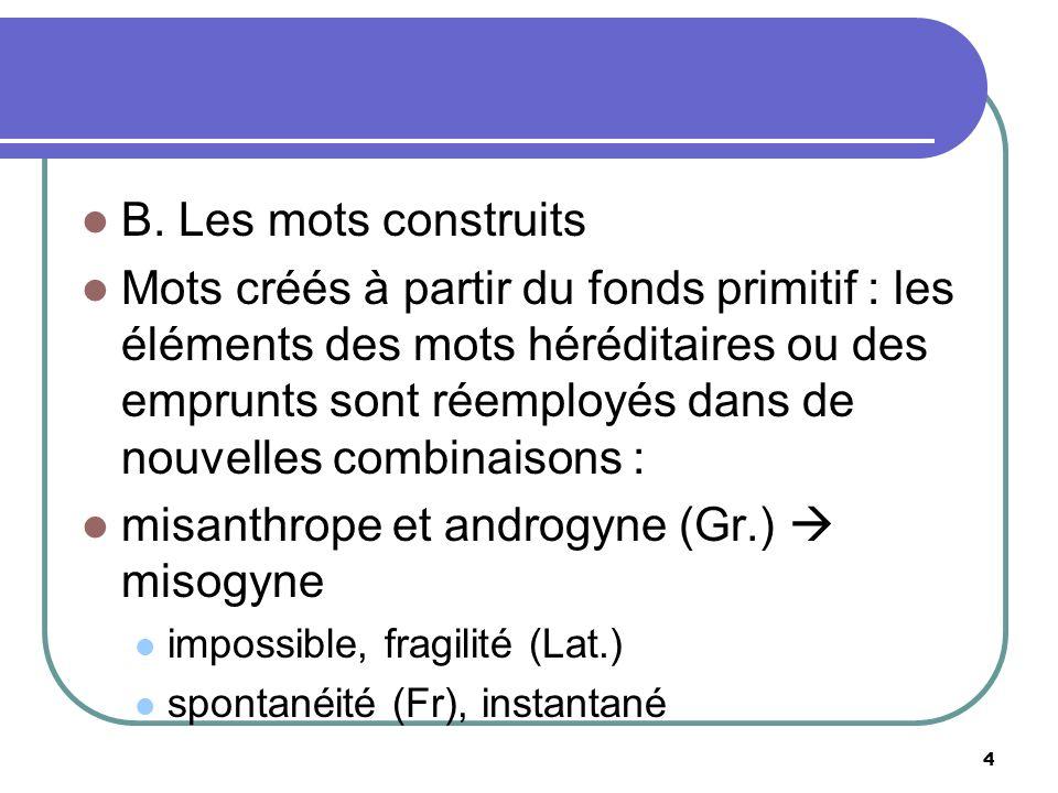 misanthrope et androgyne (Gr.)  misogyne
