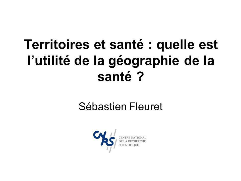 Territoires et santé : quelle est l'utilité de la géographie de la santé