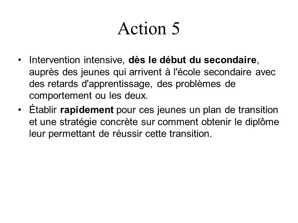 Action 5