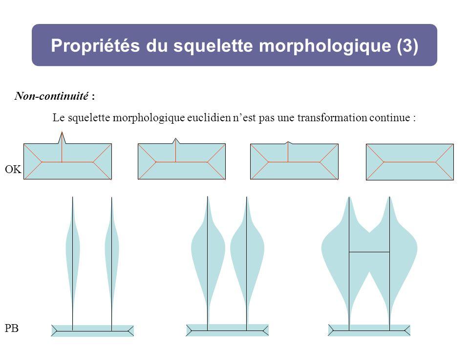 Propriétés du squelette morphologique (3)