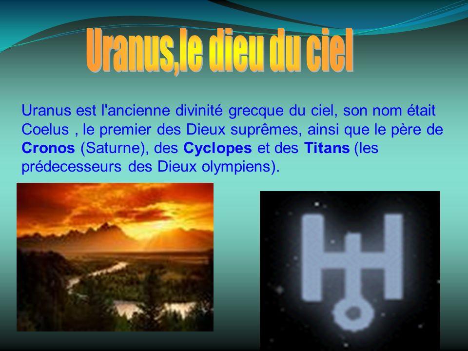 Uranus,le dieu du ciel