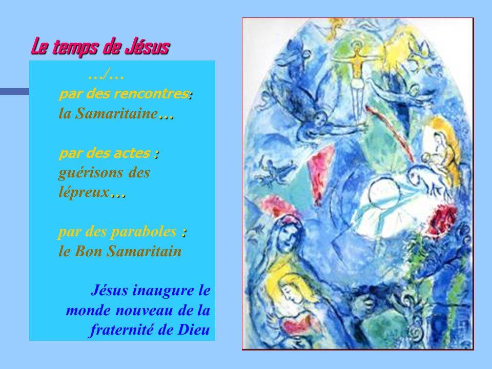 Le temps de Jésus …/… par des paraboles : le Bon Samaritain