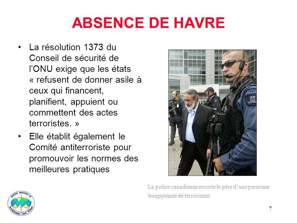 ABSENCE DE HAVRE