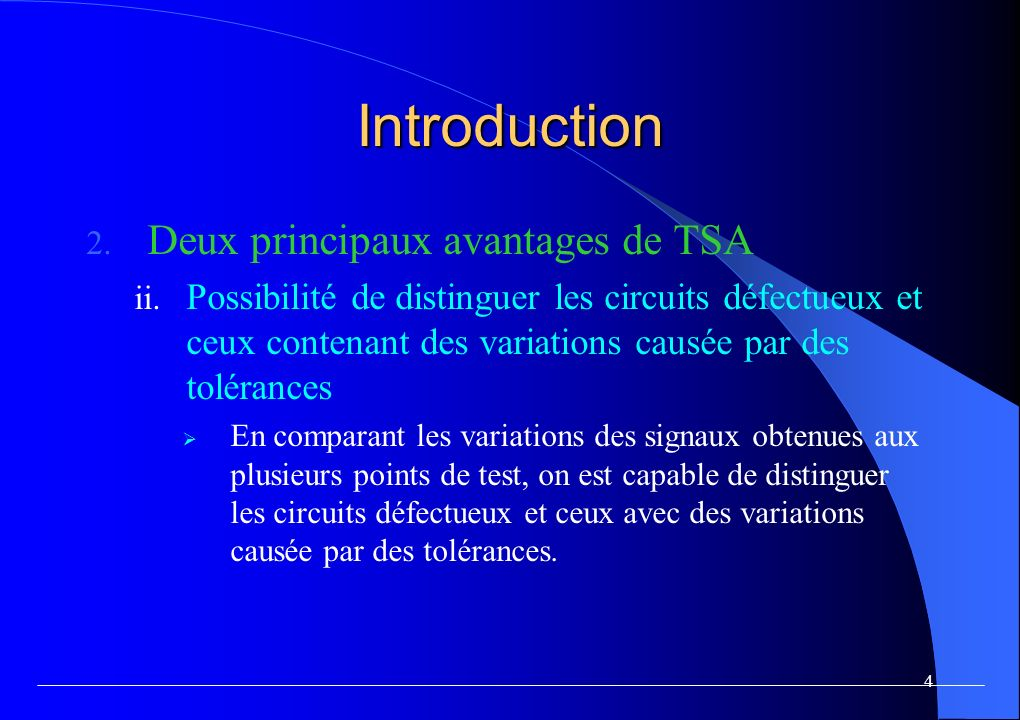 Introduction Principe de fonctionnement