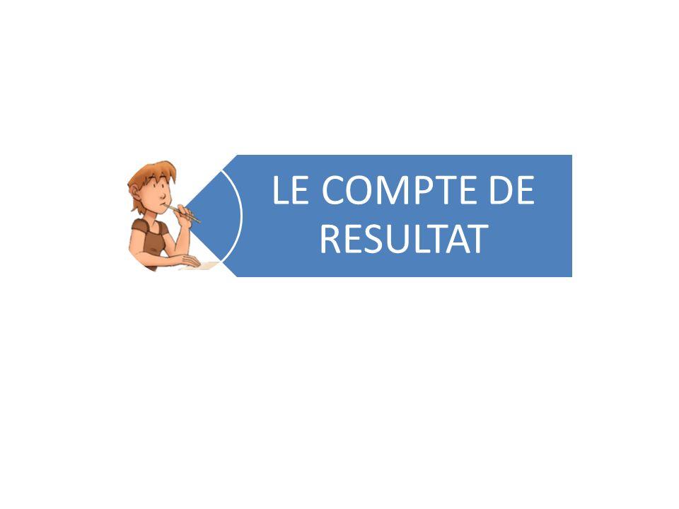 LE COMPTE DE RESULTAT
