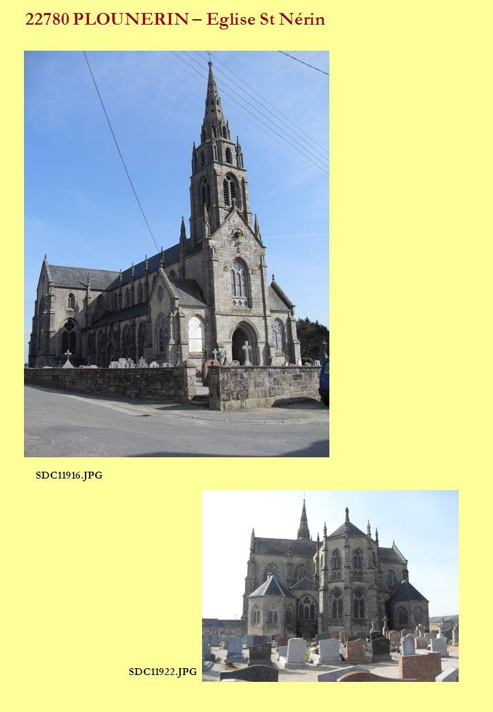 22780 PLOUNERIN – Eglise St Nérin