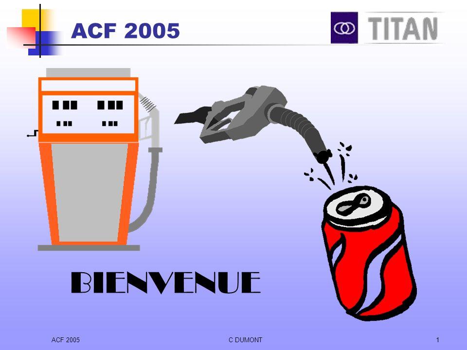 ACF 2005 BIENVENUE ACF 2005 C DUMONT