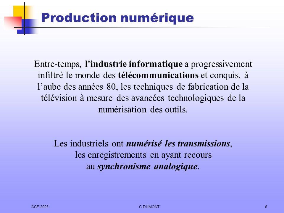 Production numérique