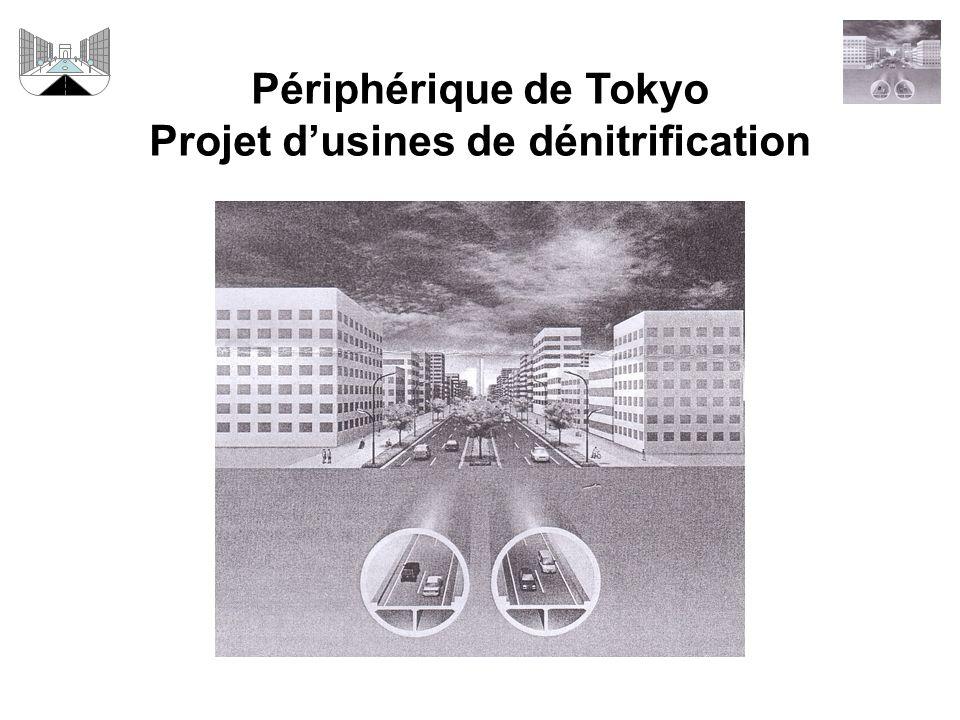 Périphérique de Tokyo Projet d'usines de dénitrification