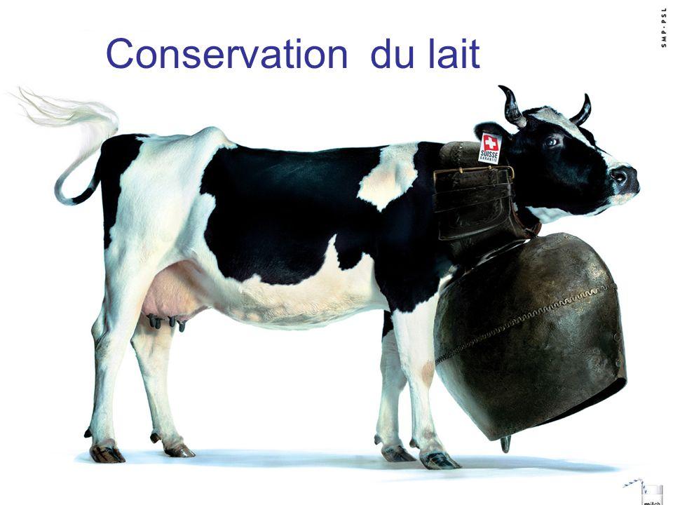 Conservation du lait