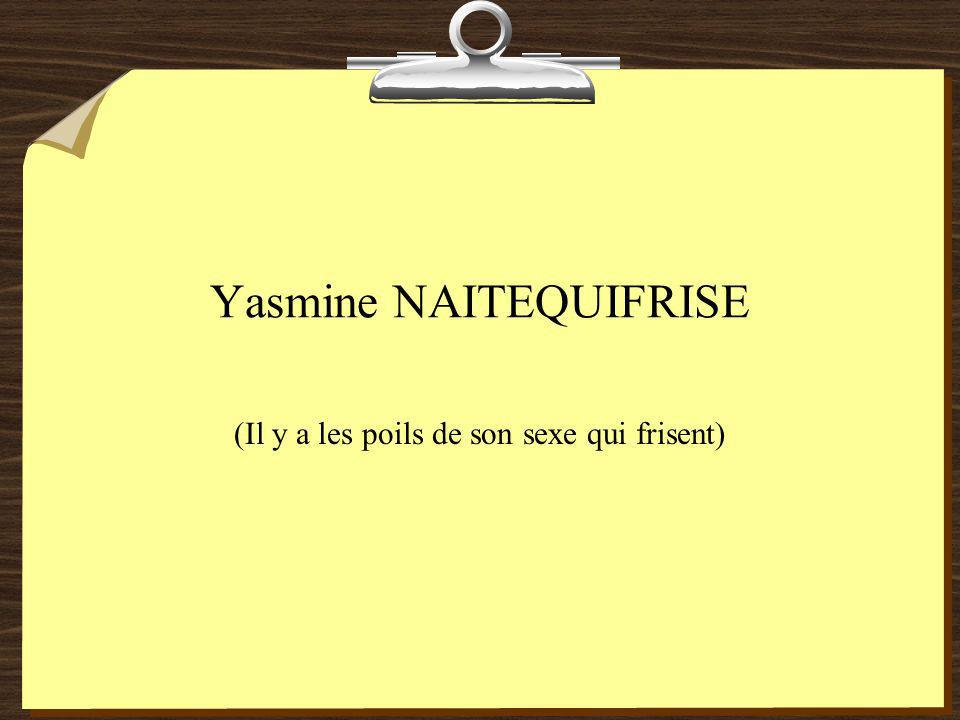Yasmine NAITEQUIFRISE